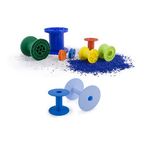 Small and medium-sized spools for wires and tapes  - periplast